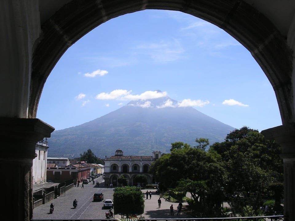 Antigua-vulkan