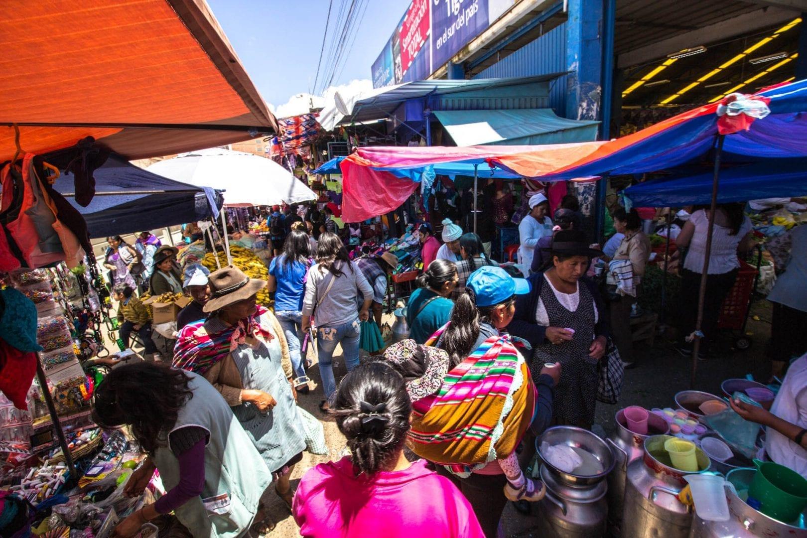 Bolivia-markedsplads